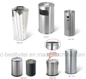 Hospital Waste Bin Disposed of at a Low Valuation Hotel Lobby Waste Bins pictures & photos