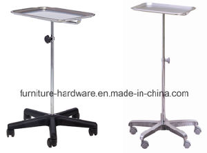 5 Star Swivel Base Aluminum for Medical Device Furniture Parts Mobile Instrument Stand pictures & photos