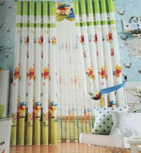 2016 Morden Polyester Texile Window Curtain Fabric EDM4835
