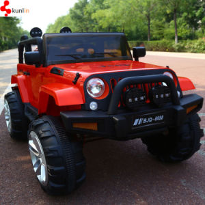 Drivable Remote Control Children Toy Jeep Cars with Two Seats pictures & photos