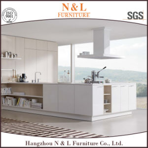 Modern Style White Color Kitchen Cabinet Wooden Kitchen Furniture pictures & photos