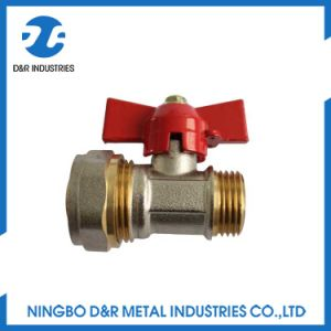 Butterfly Handle Full Bore Brass Ball Valve pictures & photos