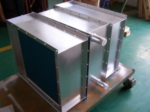 Copper Tube Aluminium Fin Heat Exchanger for Cooling Machine pictures & photos