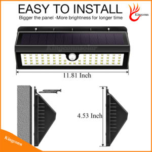 900 Lumen Solar Garden Light Motion Sensor Solar Lamp pictures & photos