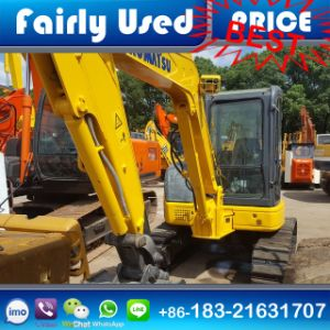 Slightly Used Komatsu Mini Excavator PC55mr-2 of Komatsu PC55mr-2 Excavator