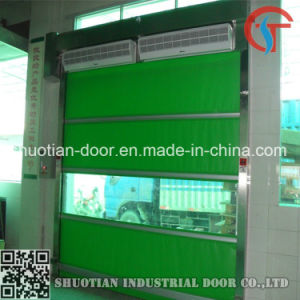 PVC Roll up Automatic Fast Speed Door (ST-001) pictures & photos