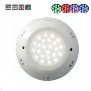 12V IP68 Plastic LED Underwater Light Swimming Pool Light for Concrete pictures & photos