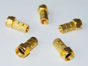 RG6 Connector Crimp for RF TV Cable pictures & photos