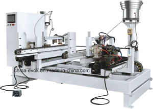 Woodworking Furniture Automatic Dowel Drilling and Inserting Machine Mzd1206 pictures & photos