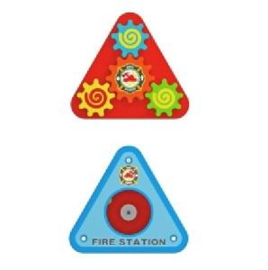 Hot Sale Multi-Function Wooden Triangle Rack Toy for Kids and Children pictures & photos