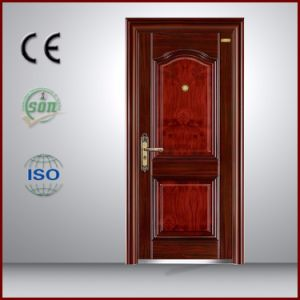 China Top Steel Security Entry Door for Israel Market pictures & photos