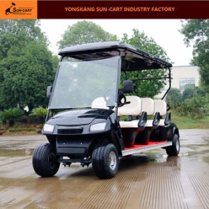 Customized 6 Seater Electric Golf Cart Electric Vehicles pictures & photos