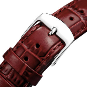 High Quality Watches Genuine Leather Strap, Leather Strap with 316L Stainless Steel Buckle pictures & photos