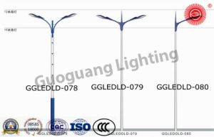 Ggledld-078079080 Patent Design IP65 High Quality 6m-12m LED Street Lights pictures & photos