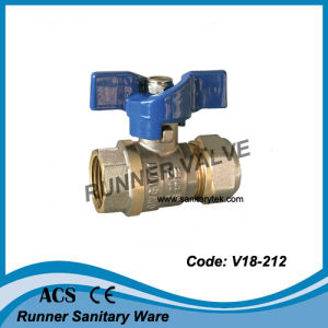 Ball Valve with Compression Fittings Ends (V18-215) pictures & photos