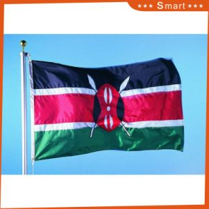 Custom Waterproof and Sunproof National Flag Kenya National Flag Model No.: NF-065 pictures & photos