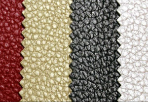 PU Synthetic Artificial Leather Fabric for Sofa Shoes pictures & photos