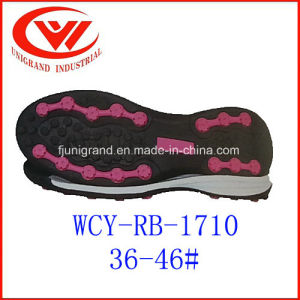 Wear Resistance High Demand Outsole for Making Soccer Shoes pictures & photos