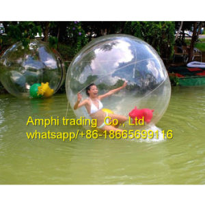 Color and Transparent Water Inflatable Toy