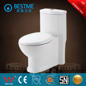Americian Style Ceramic White Siphonic Toilet with Best Price (BC-2015) pictures & photos