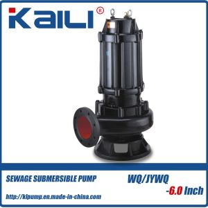 WQ Non-clog Sewage Pump Drainage Submersible Pump (15-30HP) pictures & photos