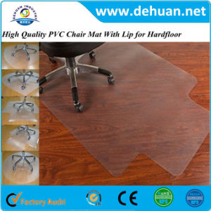 Transparent Hard Plastic Floor Mat Size 36X48 Inches /46X60 Inches; Thickness 1.8-2.5mm; Multiple Shapes pictures & photos