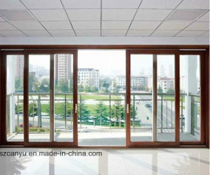 Germany Designed and Standard Aluminum Sliding Doors with Building Materials pictures & photos