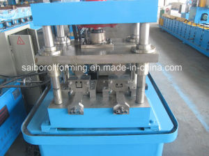 Guide Rail Roll Forming Machine (Double Line) pictures & photos
