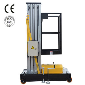 6-10m Mast Aluminum Alloy Mobile Lift with CE and ISO9001 pictures & photos