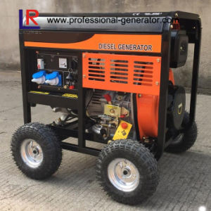 Air Cooled 4.5kw Diesel Generator pictures & photos