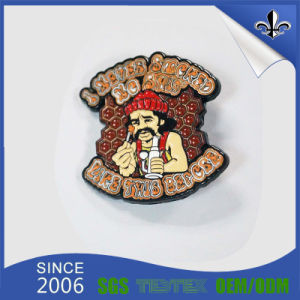 Eco-Friendly Lovely 3D Feature Plated label Pin for Souvenir Use pictures & photos