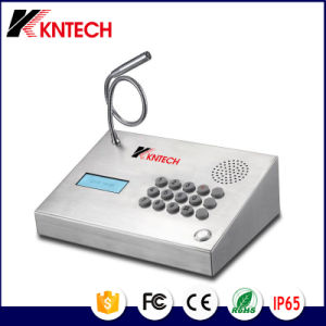 Desktop Intercom Telephones Knzd-59 Kntech VoIP Phone pictures & photos