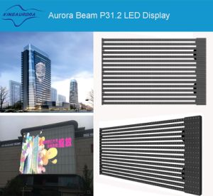 P31.25 DIP 3in1 Outdoor High Transmittance Rate LED Mesh pictures & photos