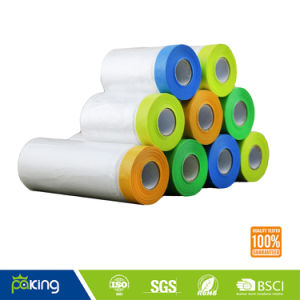 Wholesale Pre Taped Masking Film for Car Painting pictures & photos
