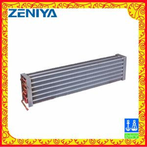 Environmental Copper Tube Copper Fin Condenser Coil for AC Outdoor Unit pictures & photos