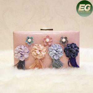 Bags Woman Handbag Wholesale Price Lady Evening Clucth Bag with Flower Eb788 pictures & photos