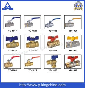 Brass Elbow Coupling Compression Pipe Fitting (YD-6052) pictures & photos