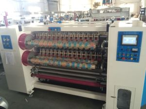 New Model BOPP Tape Slitting Machine/BOPP Adhesive Tape Production Line pictures & photos