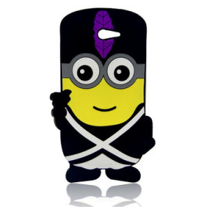 Custom Eco-Friendly Silicone Cute Cartoon Phone Case pictures & photos