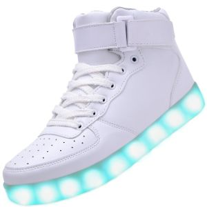 2016 New Colorful Sport Adult LED Shoes with 450mAh Battery pictures & photos