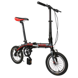 14 Inch Aluminum Alloy Folding Bicycle pictures & photos