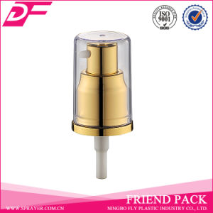 Beautiful Design Metal Plastic Cream Pump with Head Cap pictures & photos