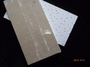 SGS Standard Acoustical Mineral Wool False Ceiling Panel pictures & photos