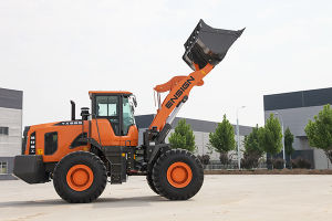 New Front Articulated 5 Ton Wheel Loader Yx655 with Weichai Engine pictures & photos