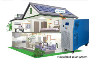 1000W/2000W/3000W/4000W/5000W/6000W/ 7000W Household Solar Power System/ Generator 220V pictures & photos