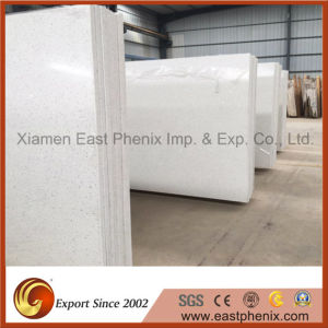 Sparkling White Quartz Stone for Countertop Vanity Top pictures & photos