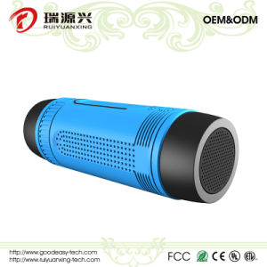 Waterproof Bicycle Wireless Bluetooth speaker with power bank and LED light pictures & photos