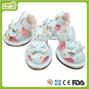 Pet Sandals Colorful Dog Shoes pictures & photos