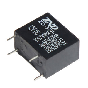 32f Power Relay Miniature Size Electromagnetic Relay 5A 4pins 0.45W pictures & photos