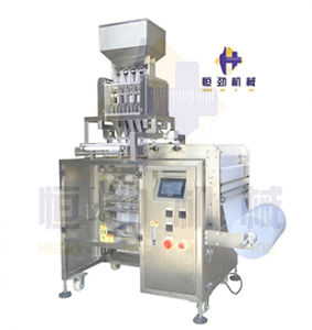 Multi Lane Silica Gel Filling and Packing Machine